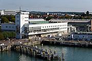 Zeppelinmuseum, Hafen, Friedrichshafen, Bodensee, Baden-Württemberg, Deutschland