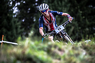 Madeline Robbins (USA) at the 2018 UCI MTB World Championships - Lenzerheide, Switzerland