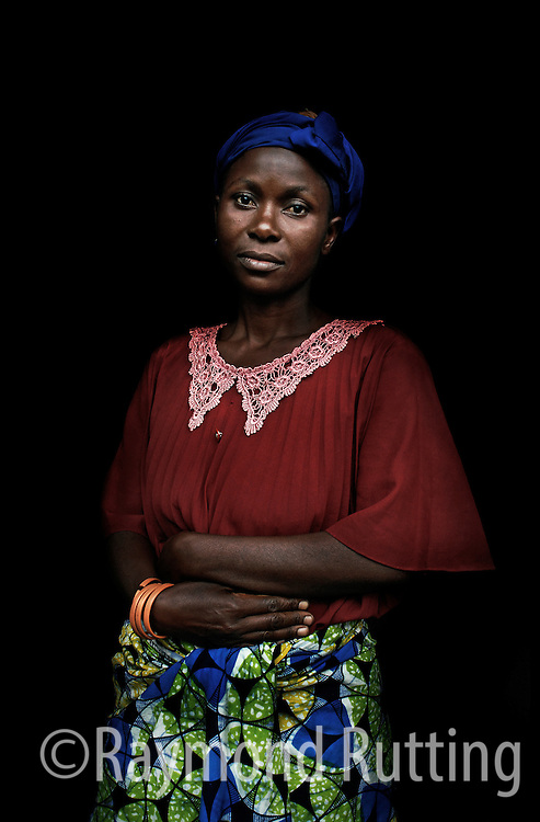 Congo - Project Eyes on Africa - Portrets of refugee's in three African Country's.  photo raymond rutting