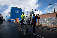 Football - 2019 / 2020 Premier League - Everton vs. Liverpool<br /> , at Goodison Park.<br /> <br /> <br /> COLORSPORT/TERRY DONNELLY