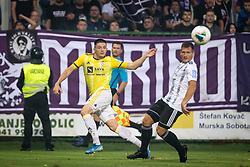 Martin Kramarič of Maribor and Klemen Šturm of NŠ Mura during football match between NŠ Mura and NK Maribor in 4th Round of Prva liga Telekom Slovenije 2019/20, on Avgust 3, 2019 in Fazanerija, Murska Sobota, Slovenia. Photo by Blaž Weindorfer / Sportida