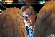 Germany - Deutschland - BERLINALE 2015; cinema, Film, Kino, HERE:  WIM WENDERS, director, Glashuette Lounge, Potsdamer Platz, 12.02.2015; © Christian Jungeblodt