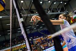 23-08-2017 NED: World Qualifications Greece - Slovenia, Rotterdam<br /> Sasa Planinsec #18 of Slovenia<br /> Photo by Ronald Hoogendoorn / Sportida
