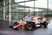 Zak Brown shoot at McLaren in Woking