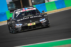 June 17, 2017 - Budapest, Hungary - Motorsports: DTM race Budapest, Saison 2017 - 3. Event Hungaroring, HU, # 7 Bruno Spengler (CAN, BMW Team RBM, BMW M4 DTM) (Credit Image: © Hoch Zwei via ZUMA Wire)