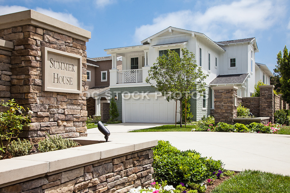 New model homes in orange county socal stock photos oc for Modern model homes
