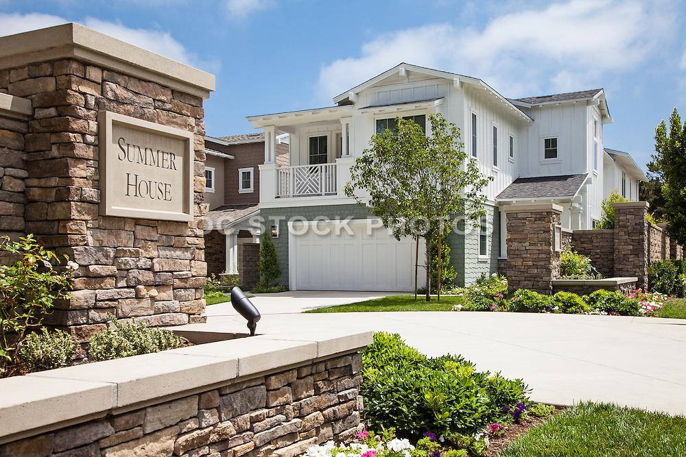 New Model Homes In Orange County Socal Stock Photos Oc