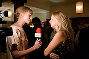 JADE PARFITT; SAVANNAH MILLER, Vogue's Celebration of Fashion Dinner in association with Creme de la Mer. the Albermarle, Browns Hotel. Albermarle st. London. 18 September 2008. *** Local Caption *** -DO NOT ARCHIVE-© Copyright Photograph by Dafydd Jones. 248 Clapham Rd. London SW9 0PZ. Tel 0207 820 0771. www.dafjones.com.