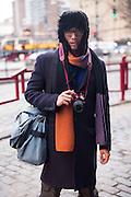 Street fashion photographer Onesimo Demira