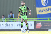 Forest Green Rovers Dominic Bernard(3) on the ball during the EFL Sky Bet League 2 match between Forest Green Rovers and Mansfield Town at the New Lawn, Forest Green, United Kingdom on 19 October 2019.