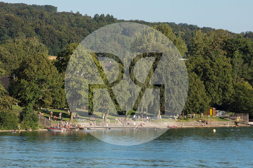 SCHWEIZ - HALLWILERSEE - Strandbad Seerose in Meisterschwanden  - 07. August 2016 © Raphael Hünerfauth - http://huenerfauth.ch