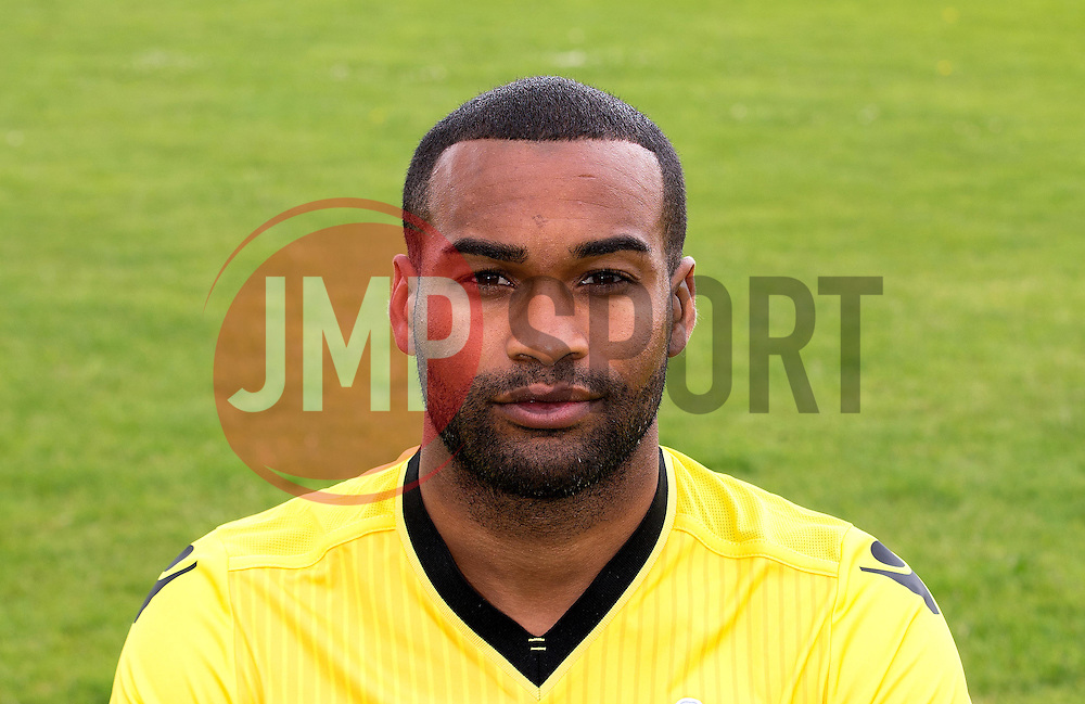 Jermaine Easter of Bristol Rovers - Mandatory by-line: Robbie Stephenson/JMP - 04/08/2016 - FOOTBALL - The Lawns Training Ground - Bristol, England - Bristol Rovers Head Shots