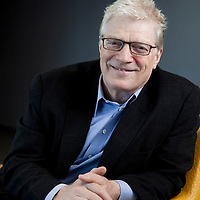 Executive portrait, Sir Ken Robinson, renowned author, educator and TED speaker.