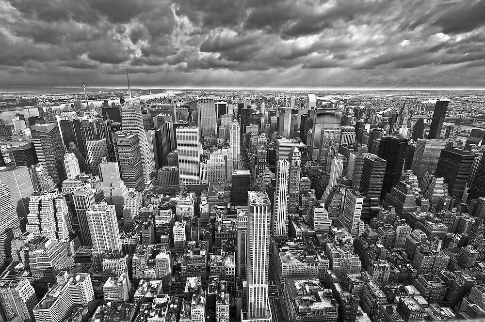 Midtown Skyline and Upper Manhattan