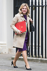 Downing Street, London, July 5th 2016. International Development Secretary Justine Greening arrives at 10 Downing Street for the weekly cabinet meeting