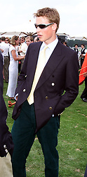HRH PRINCE WILLIAM at a polo match in <br /> Berkshire on 25th July 1999.MUM 104