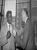 1980 -  Floyd Patterson At Guinness Brewery