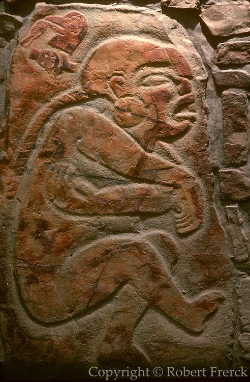 MEXICO, MEXICO CITY, MUSEUM Zapotec; Monte Alban 'Danzantes'