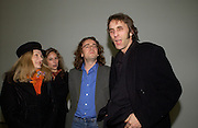 Deborah Orr,  Elizabeth Sheinkman, Jamie Byng and Will Self. Chemical Life Support opening, White Cube. 3 March 2005. ONE TIME USE ONLY - DO NOT ARCHIVE  © Copyright Photograph by Dafydd Jones 66 Stockwell Park Rd. London SW9 0DA Tel 020 7733 0108 www.dafjones.com