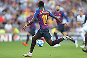 Ousmane Dembele of FC Barcelona during the UEFA Champions League, Group B football match between FC Barcelona and PSV Eindhoven on September 18, 2018 at Camp Nou stadium in Barcelona, Spain - Photo Manuel Blondeau / AOP Press / ProSportsImages / DPPI