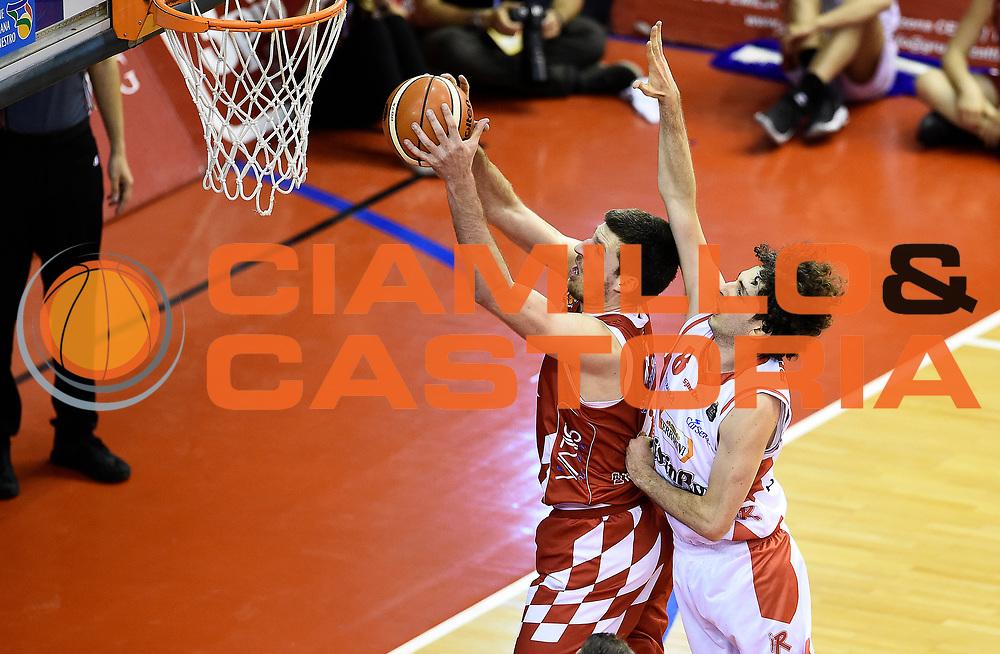 Marco Di Pizzo<br /> Grissin Bon Pallacanestro Reggio Emilia - The Flexx Pistoia Basket<br /> Lega Basket Serie A 2016/2017<br /> Reggio Emilia, 30/04/2017<br /> Foto A.Giberti / Ciamillo - Castoria