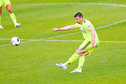 Sheffield United John Egan (12) in action during the Pre-Season Friendly match between Barnsley and Sheffield United at Oakwell, Barnsley, England on 27 July 2019.
