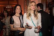 KRISTEN AVANSINO; CALGARY AVANSINO, ;  The Veuve Clicquot Business Woman Award. Claridge's Ballroom. London W1. 11 May 2015.