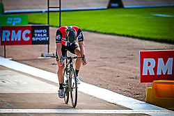 Edvald Boasson Hagen (NOR) Dimension Data crosses the finish line in 5th place in the Roubaix Velodrome at the end of the 114th edition of  Paris Roubaix 2016 race running 255.5km from Compiegne to Roubaix, France. 10th April 2016.<br /> Photo by Eoin Clarke / PelotonPhotos.com<br /> <br /> All photos usage must carry mandatory copyright credit (&copy; Peloton Photos | Newsfile | Eoin Clarke)