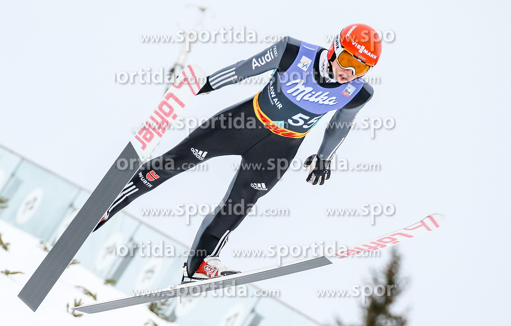 13.03.2017, Lysgards Schanze, Lillehammer, NOR, FIS Weltcup Ski Sprung, Raw Air, Lillehammer, im Bild Karl Geiger (GER) // Karl Geiger of Germany // during the 2nd Stage of the Raw Air Series of FIS Ski Jumping World Cup at the Lysgards Schanze in Lillehammer, Norway on 2017/03/13. EXPA Pictures © 2017, PhotoCredit: EXPA/ Tadeusz Mieczynski