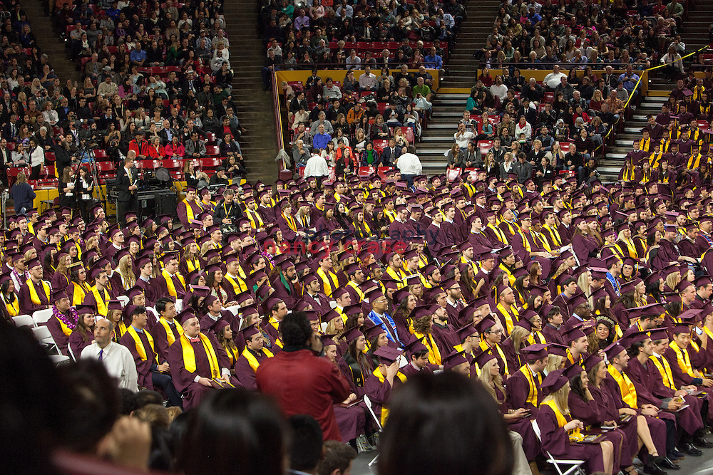 Charlee Jontz graduated from the W. P. Carey School of Business at ASU on December 14, 2015