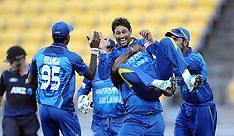 Wellington-Cricket, New Zealand v Sri Lanka, 7th ODI