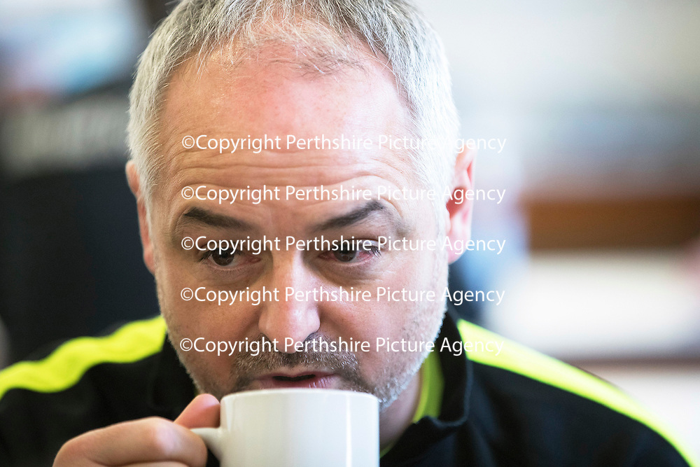Dundee United Manager Ray McKinnon pictured at the clubs training ground in St Andews&hellip;27.12.16<br />