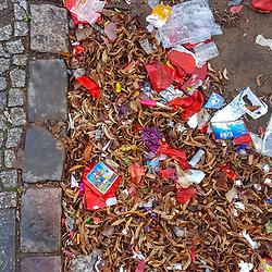 Paisagem Urbana com lixo (Paisagem) fotografado na Alemanha, na Unição Européia - Europa. Registro feito em 2016.<br /> ⠀<br /> <br /> ENGLISH: Urban landscape with trash photographed in Germany, in European Union - Europe. Picture made in 2016.