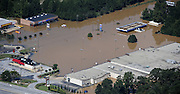 20090922  -  Austell, Ga : Constant rains for nearly a week saturated the metro Atlanta area bringing flood waters to residents' doors, closing businesses like this strip mall, and claiming the lives of at least eight by Tuesday, September 22, 2009. Cobb, Carroll, Douglas, DeKalb, Forsyth, Fulton, and Gwinnett County schools were closed because of the floods and resulting treacherous road conditions while business and homes were under water.   David Tulis         dtulis@gmail.com    ©David Tulis 2009