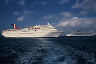 The Carnival Cruise Line ship Imagination in December 2002.<br /> Photo by Dennis Brack