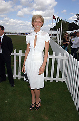 Actress MARGO STILLEY at the Cartier International polo at Guards Polo Club, Windsor Great Park, on 30th July 2006.<br /><br />NON EXCLUSIVE - WORLD RIGHTS