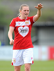 Lucy Graham of Bristol City gestures- Mandatory by-line: Nizaam Jones/JMP- 31/03/2019 - FOOTBALL - Stoke Gifford Stadium - Bristol, England - Bristol City Women v Reading Women - FA Women's Super League 1
