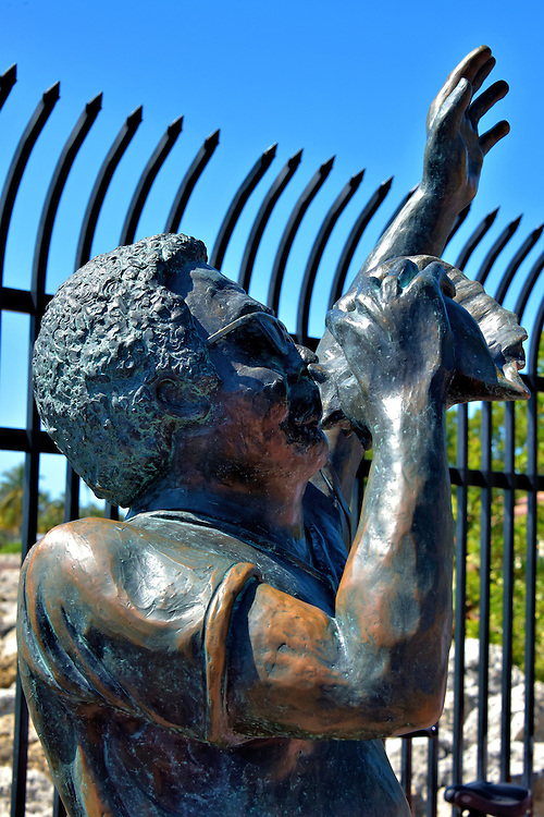 Bishop Albert Kee Statue in Key West, Florida<br />