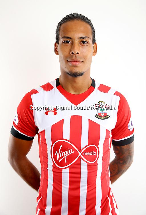 Southampton FC headshots.<br /> Virgil Van Dijk