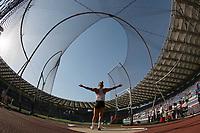 Sandra Perkovic CRO Discus throw women winner <br /> Roma 31-05-2018 Stadio Olimpico<br /> IAAF Diamond League Golden Gala <br /> Meeting Atletica Leggera - Track and Fields <br /> Foto Cesare Purini / Insidefoto