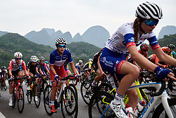 Jade Wiel (FRA) at GREE Tour of Guangxi Women's WorldTour 2019 a 145.8 km road race in Guilin, China on October 22, 2019. Photo by Sean Robinson/velofocus.com
