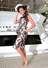 Tamara Ecclestone opens the London Boat Show