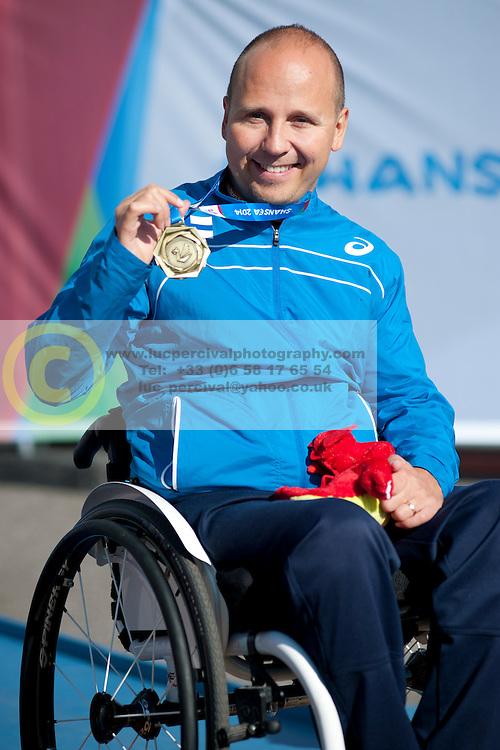 Henry Manni, 2014 IPC European Athletics Championships, Swansea, Wales, United Kingdom