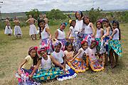 Atividades e famílias escutadas pelo UNICEF durante a semana da criança em Pernambuco