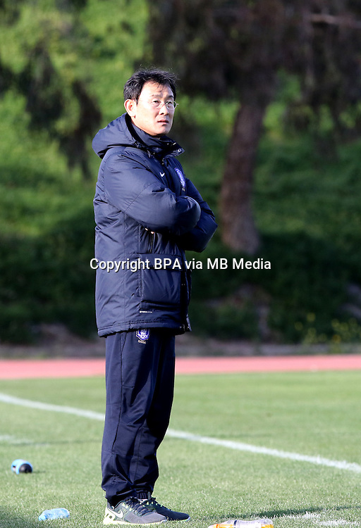 Fifa Womans World Cup Canada 2015 - Preview //<br /> Cyprus Cup 2015 Tournament ( Gsz Stadium Larnaca  - Cyprus ) - <br /> Canada vs South Korea 1-0  //  YOON Dukyeo  - Coach of South Korea