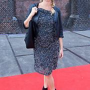 NLD/Amsterdam/20130714 - AFW 2013 Zomer, modeshow Tony Cohen inloop, zwangere Do, Dominique van Hulst