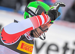 17.02.2019, Aare, SWE, FIS Weltmeisterschaften Ski Alpin, Slalom, Herren, 2. Lauf, im Bild Silbermedaillengewinner Michael Matt (AUT) // silver medalist Michael Matt of Austria reacts after his 2nd run of men's Slalom of FIS Ski World Championships 2019. Aare, Sweden on 2019/02/17. EXPA Pictures © 2019, PhotoCredit: EXPA/ Erich Spiess