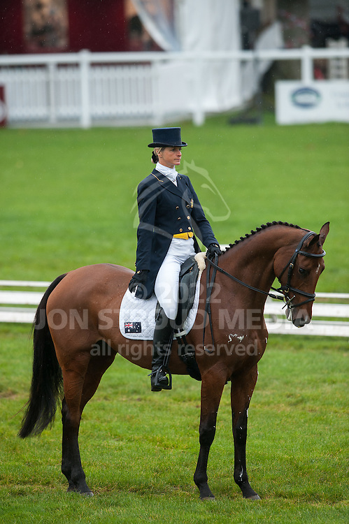 Lucinda Fredericks (AUS) & Shelter Cove - Dressage - 7 Year Old Horses - Mondial du Lion - FEI World Championship for Young Horses - Le Lion d'Angers, France - 18 October 2012