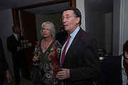 BABS POWELL; ROBERT POWELL, Duet for One first night party. Axiis, One Aldwych, London. 12 May 2009