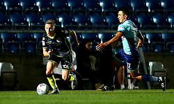 Luke Russe of Bristol Rovers goes past Luke O'Nien of Wycombe Wanderers - Mandatory by-line: Robbie Stephenson/JMP - 29/08/2017 - FOOTBALL - Adam's Park - High Wycombe, England - Wycombe Wanderers v Bristol Rovers - Checkatrade Trophy